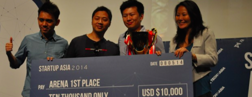Bindo wins Startup Arena and raises US$1.8M in seed funding