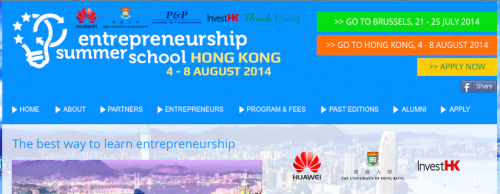 ThinkYoung and Huawei presents Entrepreneurship Summer School in HK