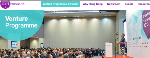 Apply for StartmeupHK Venture Programme 2014. Prizes worth over US$500,000.