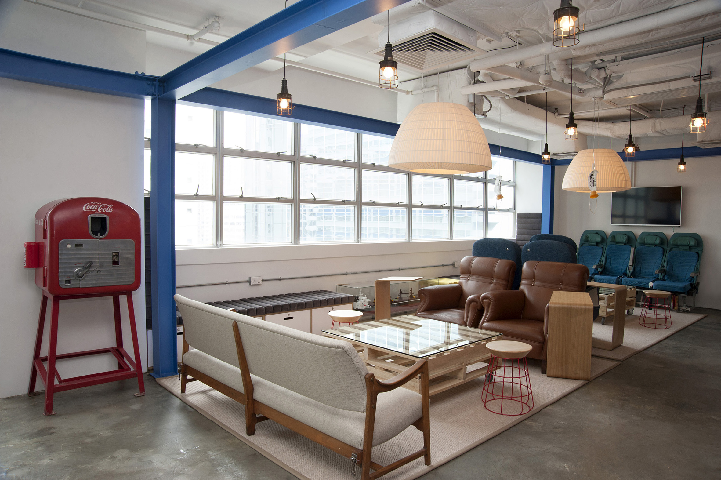 a peak into blueprint hk s newest co working and accelerator space here s a peak into what this ideal working environment looks like