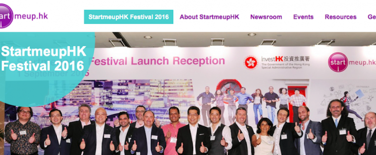 StartmeupHK Festival Jan 23-30th 2016