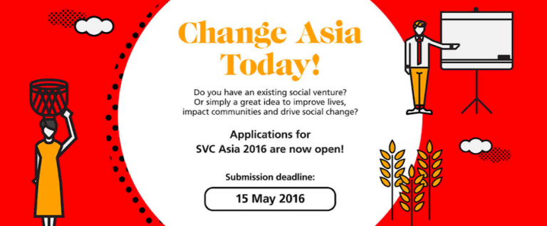 Applications Open DBS-NUS Social Venture Challenge Asia 2016