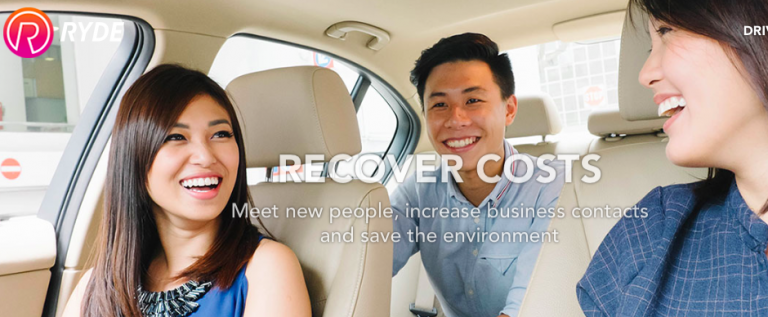 Singapore Carpooling App RYDE Coming to HK