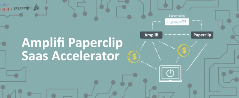 HK First B2B SaaS Accelerator by Amplifi & Paperclip