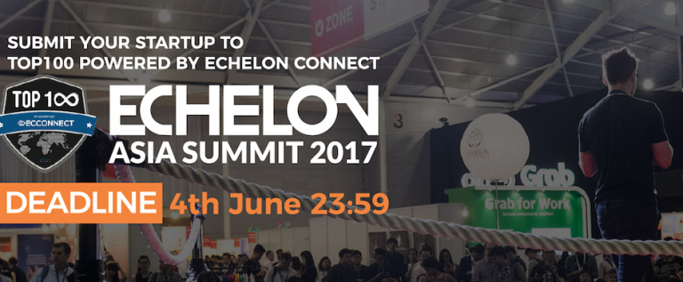 Call for Application: Echelon Asia Summit TOP100