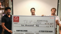 Trip Guru Won Campfire Collaborative Spaces Pitch Night
