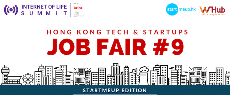 WHub's HK Tech & Startups Job Fair Feb 2